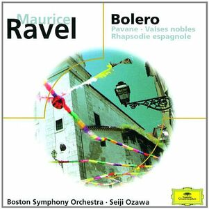CD Bolero, Pavane, Valses di Maurice Ravel