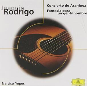 Concierto De Aranjuez - CD Audio di Joaquin Rodrigo