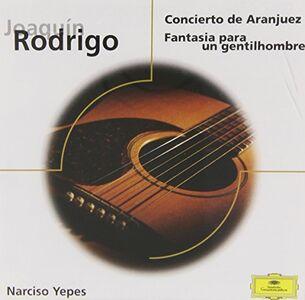 CD Concierto De Aranjuez di Joaquin Rodrigo