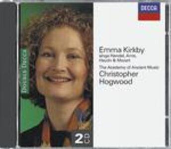 Foto Cover di Recital Kirkby, CD di Emma Kirkby, prodotto da Decca