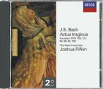 CD Cantate BWV106, BWV131, BWV99, BWV56, BWV82, BWV158 di Johann Sebastian Bach