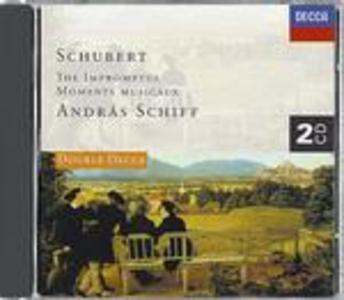 CD Impromptus - Momenti musicali di Franz Schubert