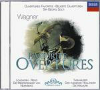 CD Favourite Ouvertures di Richard Wagner
