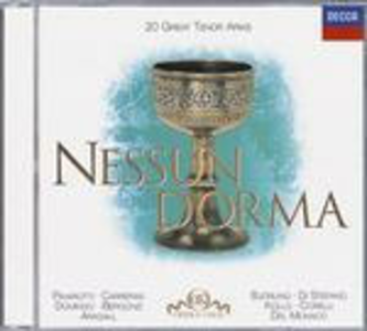 CD Nessun dorma: 20 Great Tenor Arias