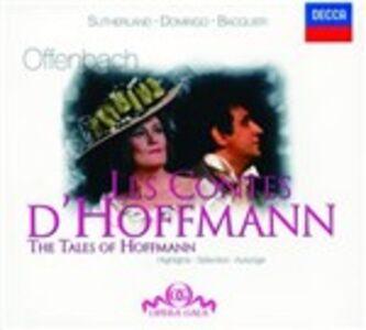 Foto Cover di I racconti di Hoffmann (Les contes d'Hoffmann), CD di Placido Domingo,Jacques Offenbach, prodotto da Decca