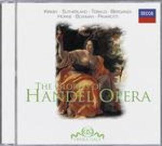 CD The Glories of Händel Opera di Georg Friedrich Händel