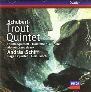 CD Quintetto La trota - 6 Momenti musicali di Franz Schubert