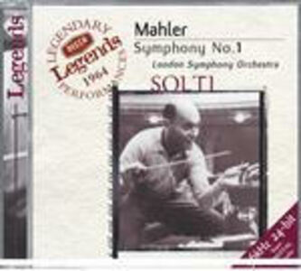 CD Sinfonia n.1 di Gustav Mahler