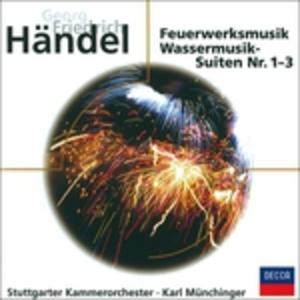 CD Feuerwerkmusik di Georg Friedrich Händel