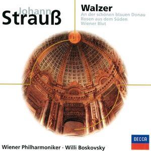 Foto Cover di Wiener Walzer, CD di Johann Strauss, prodotto da Eloquence