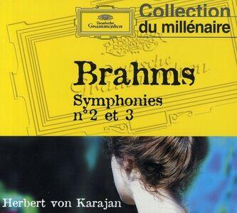 CD Sinfonie n.2, n.3 di Johannes Brahms