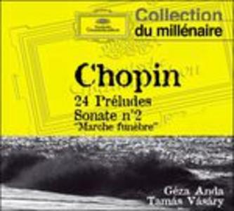 CD 24 Preludi - Sonata per pianoforte n.2 di Fryderyk Franciszek Chopin