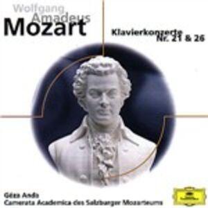 CD Concerti per pianoforte n.21, n.26 di Wolfgang Amadeus Mozart