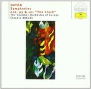 CD Sinfonie n.93, n.101 di Franz Joseph Haydn