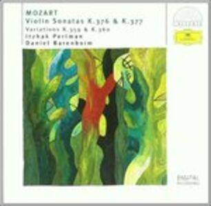 CD Sonate per violino e pianoforte K376, K377 di Wolfgang Amadeus Mozart