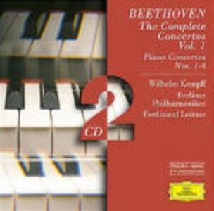 Foto Cover di Concerti completi vol.1, CD di AA.VV prodotto da Deutsche Grammophon