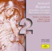 CD Requiem K626 - Messe K427, K220 Wolfgang Amadeus Mozart Herbert Von Karajan James Levine