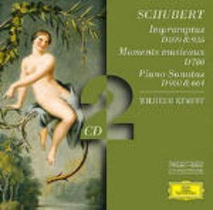 Foto Cover di Momenti musicali - Improvvisi - Sonata per pianoforte D960, D664, CD di Franz Schubert,Wilhelm Kempff, prodotto da Deutsche Grammophon