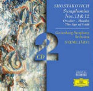 CD Sinfonie n.11, n.12 - October - Amleto (Hamlet) - L'età dell'oro di Dmitri Shostakovich