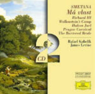 CD La mia patria (Ma Vlast) - Riccardo III - Hakon Jarl - Carnevale di Praga di Bedrich Smetana