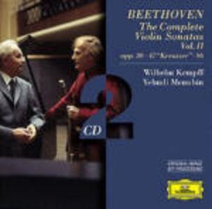 CD Sonate per violino e pianoforte complete vol.2 di Ludwig van Beethoven