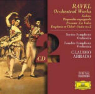 Opere orchestrali - CD Audio di Maurice Ravel,Claudio Abbado,London Symphony Orchestra,Boston Symphony Orchestra