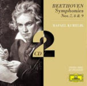CD Sinfonie n.7, n.8, n.9 di Ludwig van Beethoven