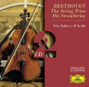 Foto Cover di Trii per archi, CD di Ludwig van Beethoven,Trio Italiano d'Archi, prodotto da Deutsche Grammophon