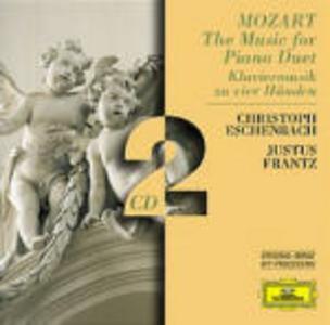 CD Musica per pianoforte a 4 mani di Wolfgang Amadeus Mozart