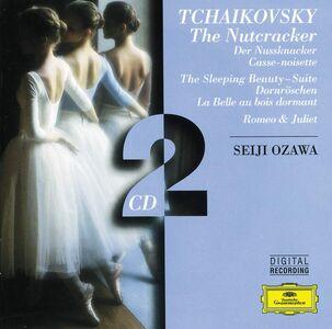 CD Lo schiaccianoci - La bella addormentata - Romeo e Giulietta di Pyotr Il'yich Tchaikovsky