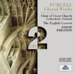 CD Composizioni corali di Henry Purcell