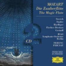 Il flauto magico (Die Zauberflöte) - CD Audio di Wolfgang Amadeus Mozart,Ferenc Fricsay,Rita Streich,Maria Stader,Dietrich Fischer-Dieskau,Lisa Otto,Ernst Haefliger,Radio Symphony Orchestra Berlino