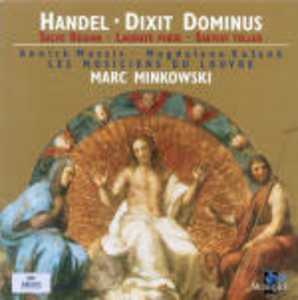 CD Dixit Dominus - Salve Regina di Georg Friedrich Händel