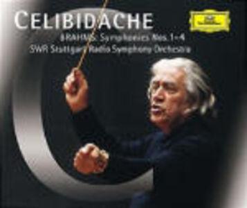CD Sinfonie complete di Johannes Brahms