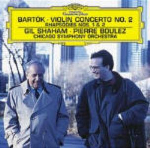 CD Concerto per violino n.2 - Rapsodie di Bela Bartok