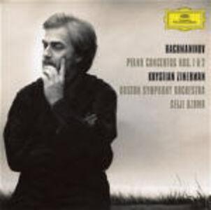 CD Concerti per pianoforte n.1, n.2 di Sergei Vasilevich Rachmaninov