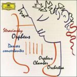 CD Orpheus - Danze concertanti di Igor Stravinsky