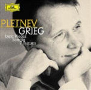 CD Pezzi lirici - Sonata per pianoforte op.7 in Mi minore - 7 Fughe per pianoforte di Edvard Grieg
