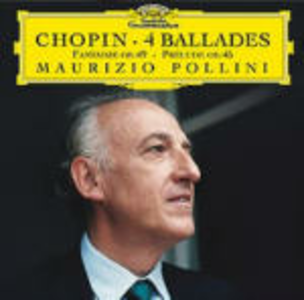 CD 4 Ballate - Fantasia op.49 - Preludio op.45 di Fryderyk Franciszek Chopin