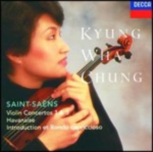 CD Concerti per violino n.1, n.3 di Camille Saint-Saëns