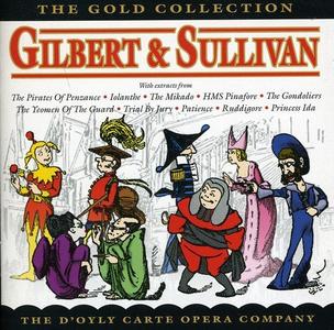 CD Gold Collection di Arthur Sullivan