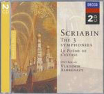 Sinfonie complete - Il poema dell'estasi - CD Audio di Alexander Nikolayevich Scriabin,Vladimir Ashkenazy