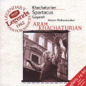 Spartacus / Gayaneh - CD Audio di Aram Khachaturian,Alexander Kostantinovich Glazunov,Wiener Philharmoniker