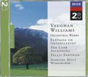 CD Fantasia on Greensleves - The Lark Ascending - Fantasia su un tema di Thomas Tallis di Ralph Vaughan Williams