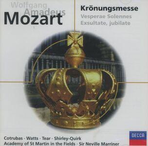 CD Messa dell'Incoronazione di Wolfgang Amadeus Mozart