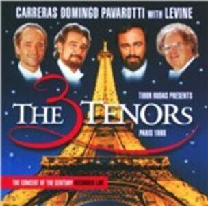 CD The Three Tenors. Paris 1998