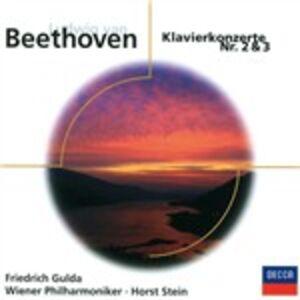 Foto Cover di Concerti per pianoforte n.2, n.3, CD di Ludwig van Beethoven, prodotto da Eloquence