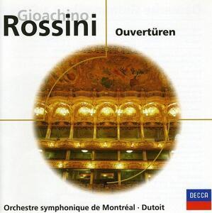 Ouverturen - CD Audio di Gioachino Rossini