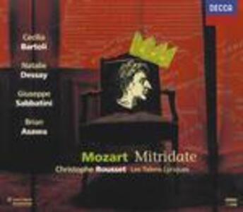 Mitridate - CD Audio di Cecilia Bartoli,Natalie Dessay,Wolfgang Amadeus Mozart,Christophe Rousset,Les Talens Lyriques