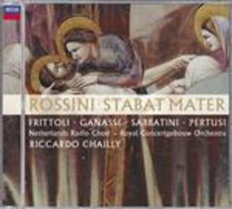 Stabat Mater - CD Audio di Gioachino Rossini,Riccardo Chailly,Royal Concertgebouw Orchestra